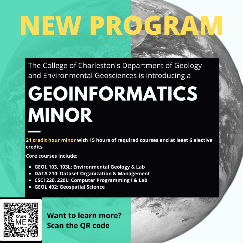 geoinformatics minor infographic